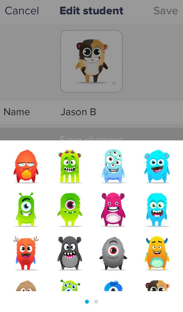 Customize Or Update Students Avatars Monsters ClassDojo Helpdesk