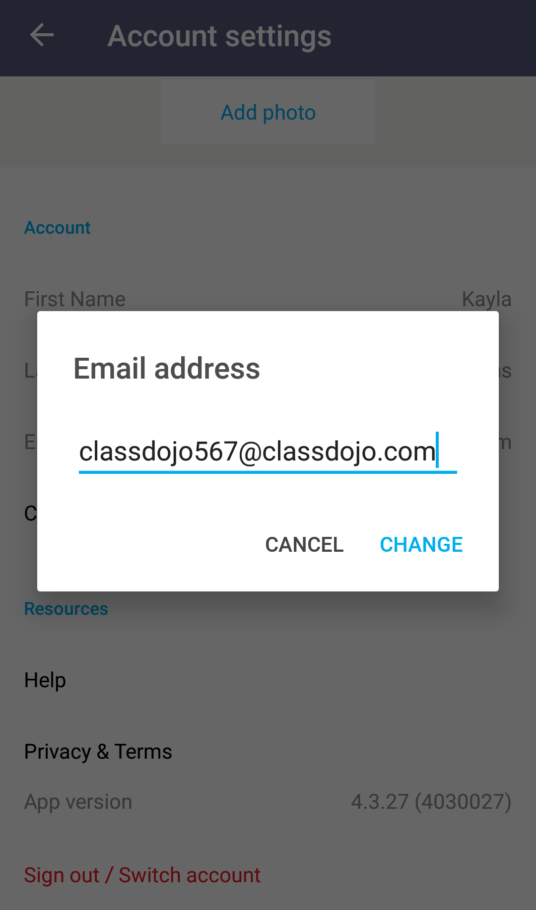 how to make an email address account